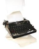 machine à écrire Photo stock