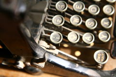 Machine à écrire de cru Image stock