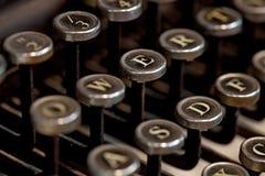 Machine à écrire de cru