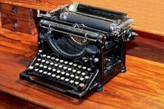 Machine à écrire de cru photo libre de droits