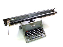 Machine à écrire de géant de vintage Photos libres de droits