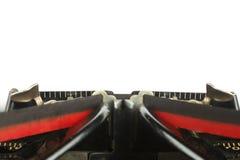 Machine à écrire de vintage Photo libre de droits