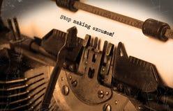 Machine à écrire de vintage Image stock