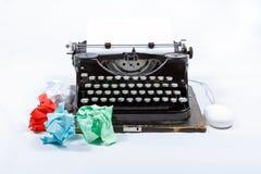 Machine à écrire de vintage photos stock