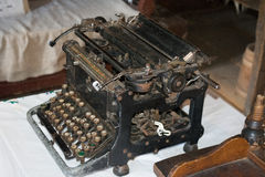 Machine à écrire manuelle Image libre de droits