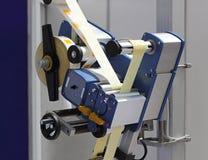 Machine à étiquettes Images stock