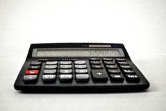 Machine à calculer - calculatrice Photographie stock