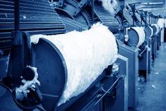 Machine à cartes pour le moulin de textile Image stock