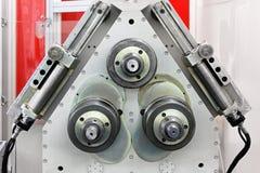 Machine à cintrer de pipe image stock