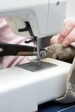 Machine à coudre électrique Image stock