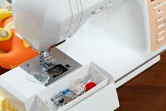 Machine à coudre Photos stock