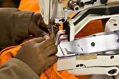 Machine à coudre industrielle Photographie stock