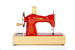Machine à coudre manuelle de vintage Photo stock