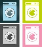 Machine à laver. Photographie stock libre de droits
