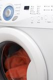 Machine à laver blanche Image stock