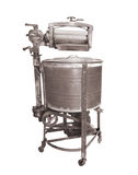 Machine à laver de sonnerie de cru d'isolement Image libre de droits