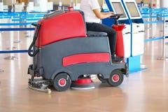 Machine à laver à l'aéroport image stock