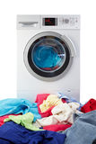 Machine à laver moderne Photos stock
