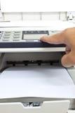 Machine à photocopier photo stock