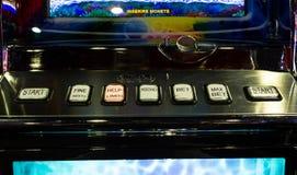 Machine à sous Photographie stock libre de droits