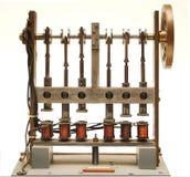 Machine à vapeur électrique photographie stock libre de droits