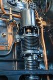 Machine à vapeur photographie stock