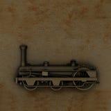 Machine à vapeur illustration stock