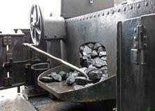 Machine à vapeur ferroviaire Photographie stock libre de droits