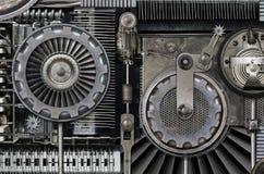 Machine étrange photographie stock libre de droits
