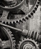 The Machine. Part of an old machine gear somewhere in the Western USA Royalty Free Stock Photos