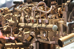 Machine Image stock