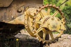 Machine abandonnée par camelote Image libre de droits