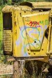 Machine abandonnée par camelote Photographie stock libre de droits