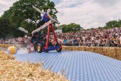 Machine Arabe de faisceau de caisse à savon de Red Bull Photo libre de droits