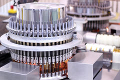 Machine automatique pharmaceutique d'inspection Photo stock