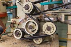 Machine belt Stock Images