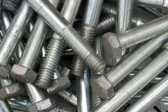 Machine bolts Royalty Free Stock Photography