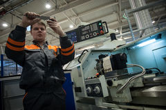 Machine-building plant Stock Image