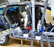 Machine at car factory Stock Photo