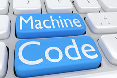 Machine Code concept Royalty Free Stock Image