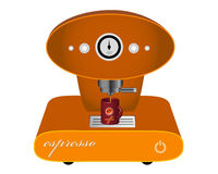 Machine for coffee Royalty Free Stock Photo