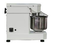 Machine compacte moderne pour préparer la pâte, d'isolement sur le fond blanc photo libre de droits