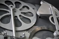 Machine components Royalty Free Stock Photo
