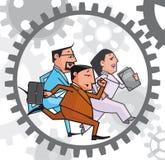 Machine comptable illustration de vecteur