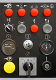 Machine control Royalty Free Stock Photos