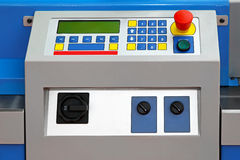 Machine control panel Stock Images