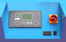 Machine Control Panel Royalty Free Stock Image