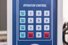 Machine control panel Royalty Free Stock Photography