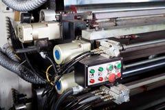 Machine control switch Stock Photography