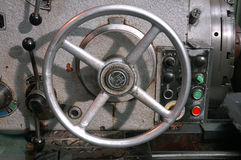 Machine control wheel Stock Image